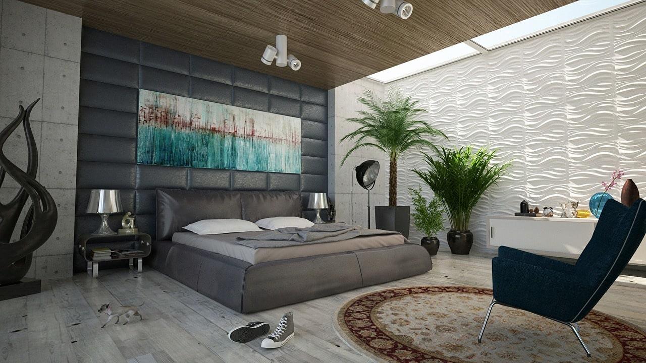 Dildo benutzen - gemütliches Zimmer