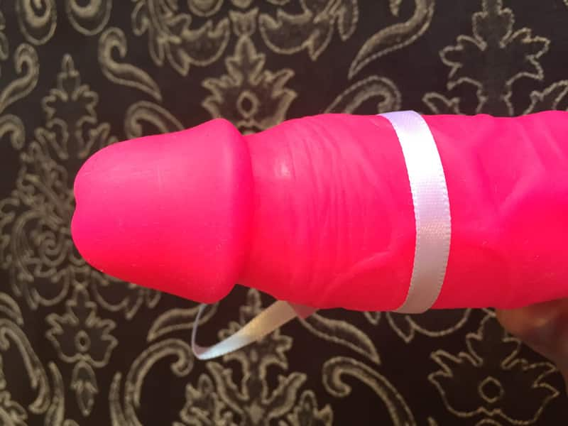 Lustgefluester Deluxe Real Dong Dildo Spitze